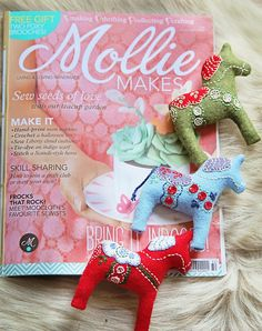 Janice Issitt Life Style: Mollie Makes issue 32