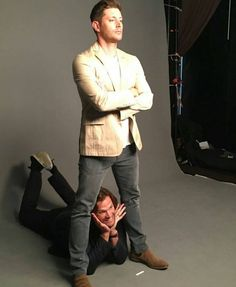 ~Hey Gorgeous~ lol what? Supernatural J2