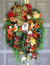 ~Le Poulet~French Country Tuscan Autumn Fall Door Wreath