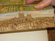 Another fore-edge painting from Vera Dutton.