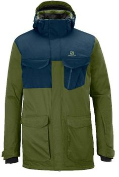 The Salomon Sashay 2L shell jacket delivers waterproof performance and protection for your big powder days. #REIGifts