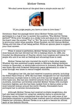 on mother teresa essay on mother teresa