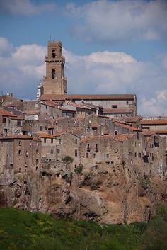 Pitigliano Grosetto Tuscany Italy