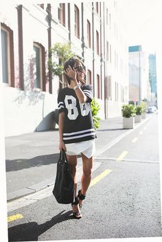 foretrending... jersey tees are like a lover you cant resist...dressed up or down ;-)...