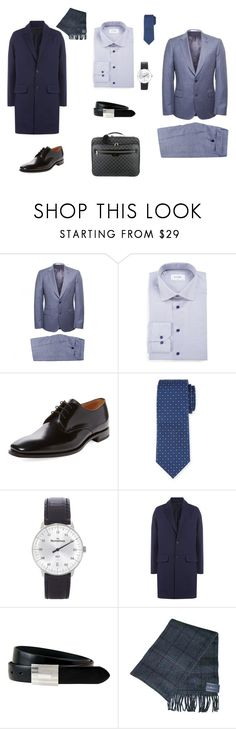 """For Pavel 2"" by julia-ikkonen on Polyvore featuring Paul Smith, ETON, Loake, Neiman Marcus, MeisterSinger, AMI, The British Belt Company, Louis Vuitton, men's fashion и menswear"