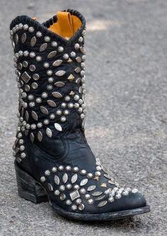 Womens Old Gringo Tino Tino Boots Black #L930-1.....