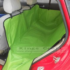 Luxury Double-Layer Waterproof Pet Car Seat, Dog Cat Seat Cover Hammock, Pet Car Mat Green/Pink/Blue Free Shipping