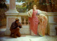 Charles Edward Perugini ~ Victorian Era painter |  Musica |