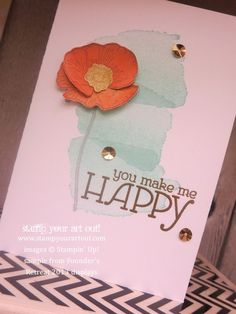 Stampin' Up!® Founder's Day samples on display and make 'n' takes - Stamp Your Art Out!