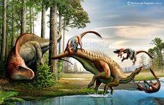 deinonychus-vs-tenontosaurus-mohamad-haghani.jpg (900×581)