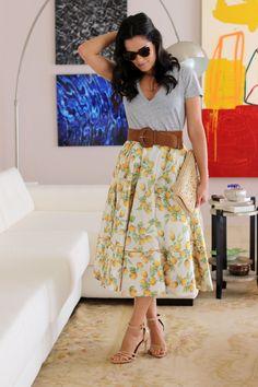 Look simples, discreto e lindo! *-* #UmPoucoMaisDeFlores  BlogdaMariah CS2