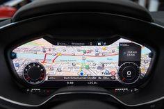 Audi TT: Audi ersetzt traditionelle Armaturen durch Display