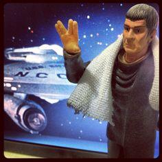 Live long and prosper... don't panic!