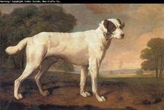 George Stubbs dogs in landscape