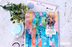 Bargello Alcohol Ink Card How To Introduce Yourself, How To Make, Daisy Chain, Bargello, Your Cards, Colorful Backgrounds, Card Stock, Card Making, Alcohol