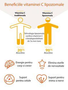 Vitamina C lipozomala are o biodisponibilitate mai buna, ceea ce inseamna ca mai multa vitamina C consumata este absorbita in organism, in fluxul sanguin si, in cele din urma, in tesuturi. Mai, Symbols, Peace, Vitamin C, Sobriety, Glyphs, World, Icons