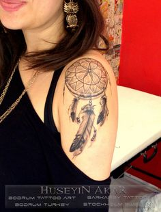 dreamcatcher tattoo tuy dövmesi black and gray tattoo bodrum tattoo huseyin akar bodrum tattoo art bodrum dövme sanati bayan dövmeleri