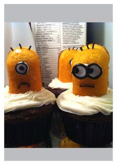 Minnon cupcakes. So cute!!