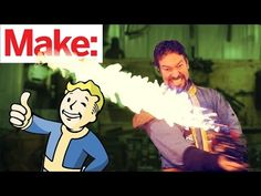 Real Life Fallout 4 'Shishkebab' Flaming Sword Created - Deem Club