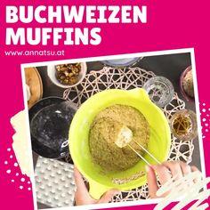 Buchweizenmuffins sind extrem lecker und eine glutenfreie Muffinvariante. Buchweizenmuffins sind lecker als Snack und einfach zum Mitnehmen. #buchweizenrezepte #buchweizen #buchweizenmuffins Cereal, Good Food, Snacks, Breakfast, Desserts, Savory Muffins, Glutenfree, Coconut Flakes, Recipes Dinner