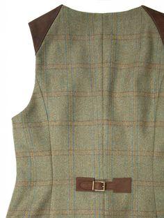 Daisy Tweed Waistcoat Women's Style