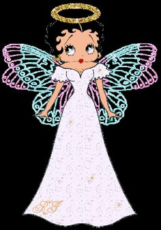 Betty Boop Angel, I am on the inside...
