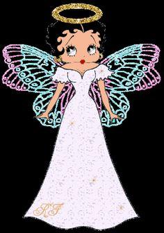 Betty Boop Angel, I am on the inside... my halloween costume... kinda