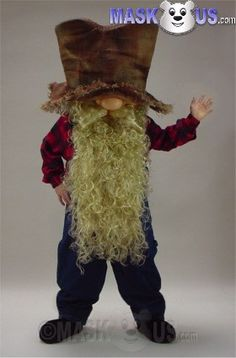 Miner Mascot Costume 34256 is part of our People Mascots Cowboys