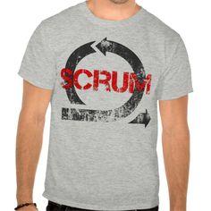 Scrum Vintage (for light colors) T Shirt, Hoodie Sweatshirt