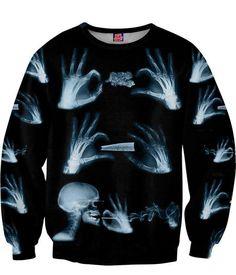 xray sweatshirt. #420 #weed