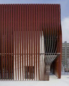Nebuta-no-ie Warasse   Molo, d/dt, Frank La Riviere Architects   Aomori   Japan   2006-10