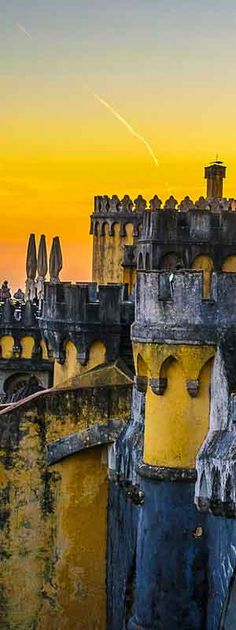 Pena Palace ~ UNESCO World Heritage Site ~ Sintra   Portugal