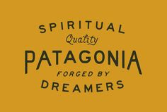 Design for Patagonia by L A N D