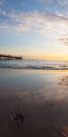 Incredible sunsets at Glenelg Beach - by Brendan McGrath