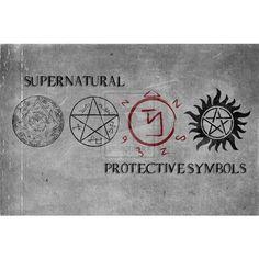 Supernatural protective Symbols