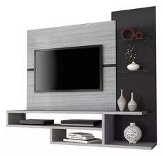 Trendy modern furniture design tv walls home decor 54 ideas Wall Unit Designs, Tv Stand Designs, Living Room Tv Unit Designs, Tv Wall Design, Tv Cabinet Design Modern, Tv Unit Decor, Tv Wall Decor, Tv Unit Furniture, Furniture Design