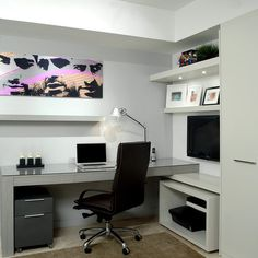 Modern Home Office Design Idea By Trend Design + Build