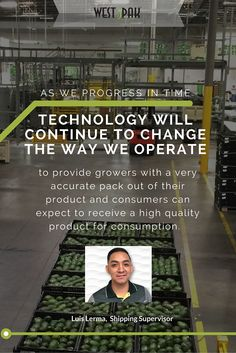 Technology + the #Avocado Industry