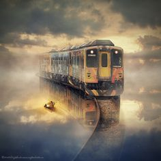 the train by Even Liu on Flickr.