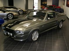 Ford, Mustang, Shelby GT500S, (Eleanor - 60secondeschrono)