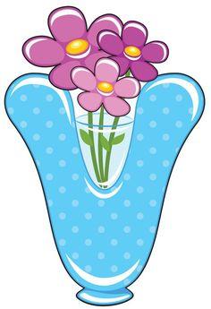 V is for Vase, Baby Alphabet Alphabet For Kids, Alphabet Art, Alphabet And Numbers, English Letter, English Alphabet, Friendship Flowers, Scrapbook Letters, Alphabet Templates, Printable Alphabet