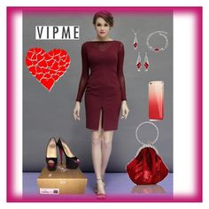 """""""VIPme#2"""" by kivericdamira ❤ liked on Polyvore featuring Christian Louboutin and vipme"""