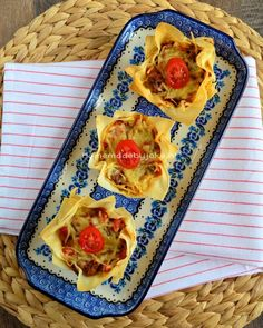 Italiaanse filodeeg quiches Spaghetti, Quiche Recipes, Yams, Antipasto, Quiches, Parmesan, Entrees, Waffles, Brunch
