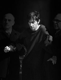 Lucas North is released from a Russian Prison after 8 years.  He staggers a bit as he walks to the MI-5 car from the Russian one. Richard lost about 20 lbs to appear the emaciated. Richard Armitage as Lucas North, Spooks...BBC