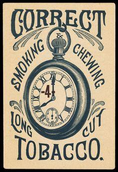 Correct Tobacco | Sheaff : ephemera