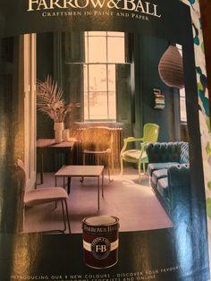 Inchyra Blue farrow & ball Inchyra Blue Farrow, Farrow Ball, Painting, Painting Art, Paintings, Painted Canvas