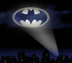 Bat Signal Light - make it flow in the dark and pain on ceiling
