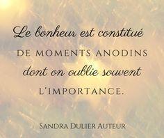 Le bonheur : Envoyer la carte virtuelle via www.sandradulier....