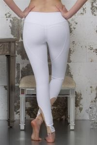 Tights get leah in a constant state of arousal - 2 part 3