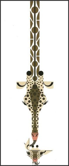 Love from Above (Mother Giraffe & Baby)  This could be an interesting spine tattoo